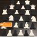 Satranç Eğitim Panosu Taşları (Magnet Tarzı)