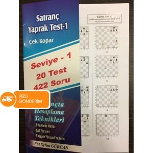 Satranç Yaprak Test - 1