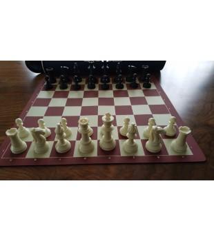 Turnuva Satranç Takımı - 95 mm Şah Yüksekliği (Öde İndir CD Hediyeli)