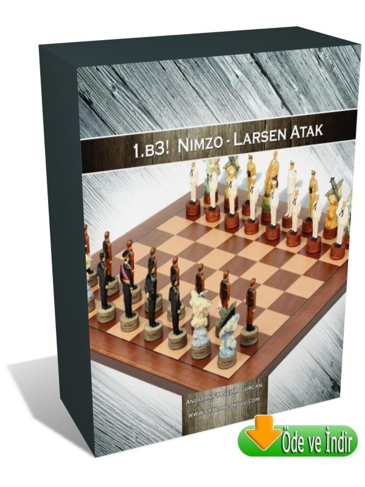1.b3! Nimzo-Larsen Atak (Öde ve İndir)