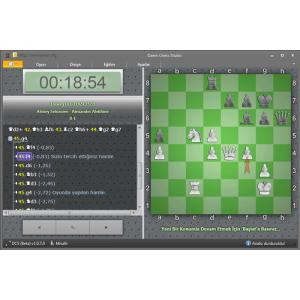 DAEM Chess Studio (Oyun analiz etme, oynama ve antrenman programı)